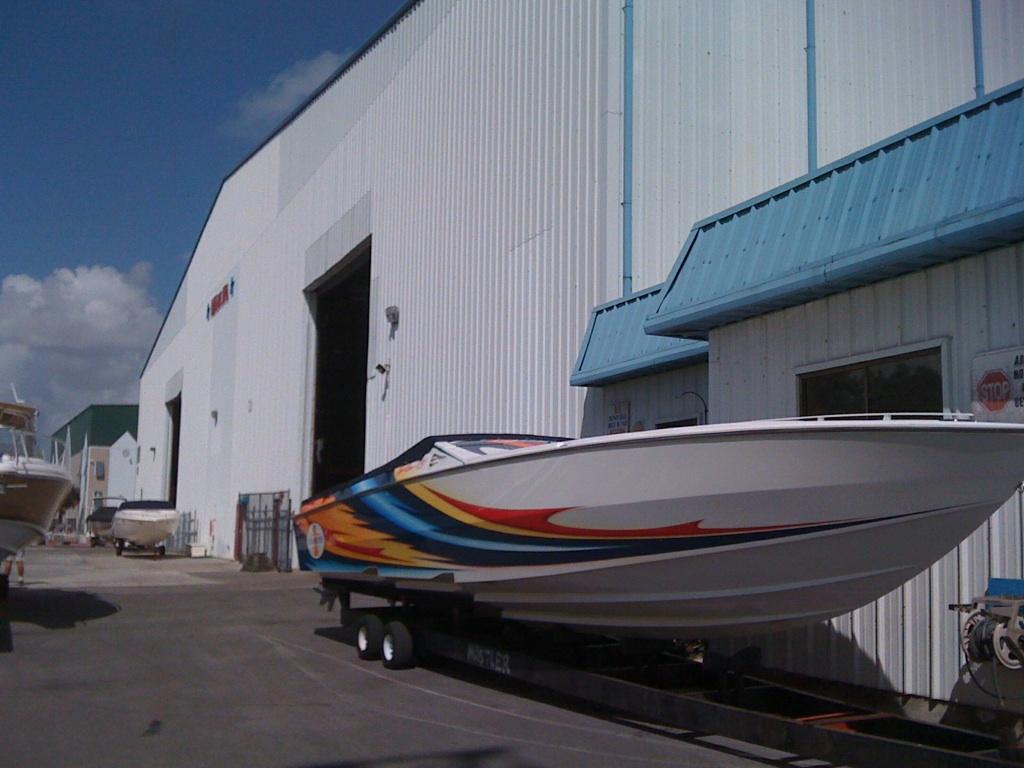 Dry Rack Storage Thunderboat Marine Service Center